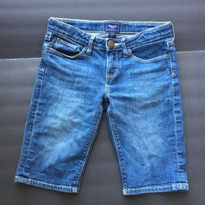 Gap Kids girls denim shorts 10